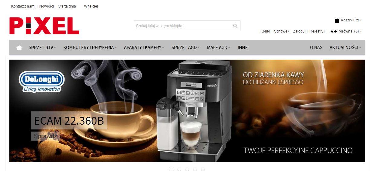 Nowy sklep magento digideo konsulting ecommerce Home design sklep online
